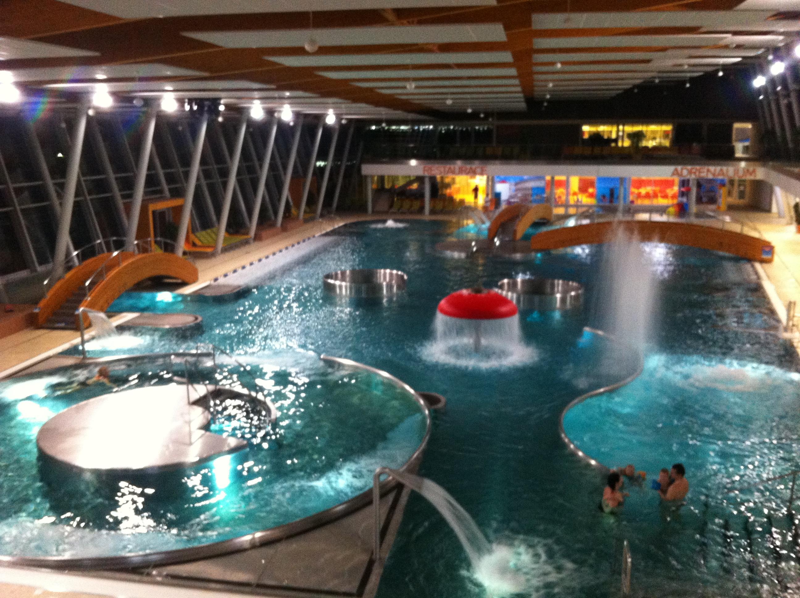 Aqualand Moravia - Pasohlávky - bazénová časť Neptunariun