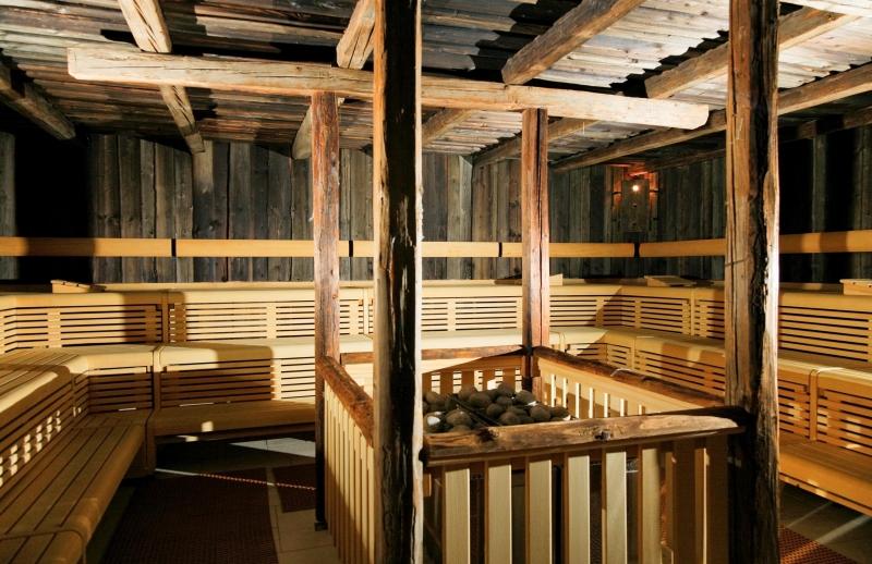Aquapalace Praha - veľká fínska sauna