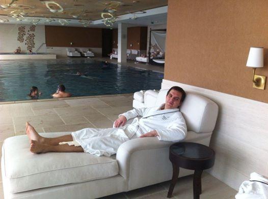 Wellness v Hotel Kempinski River Park Bratislava