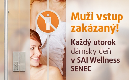 Sai wellness Senec- dámsky deň v utorok