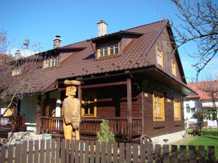 Chata Zinka v Nízkych Tatrách s privátnym wellness