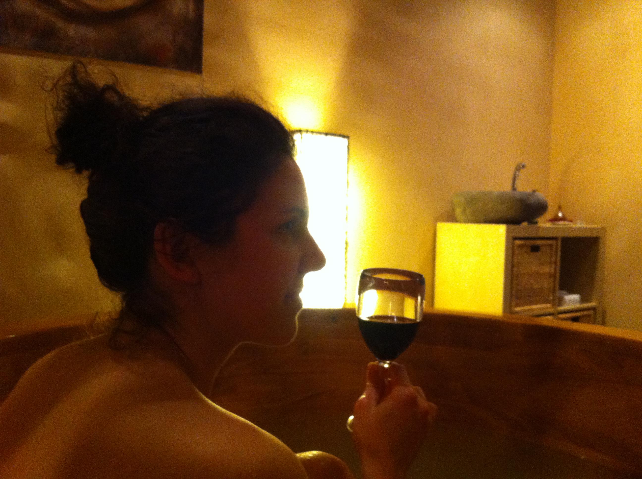 Hotel Zochova Chata - Vínna terapia - drevená vaňa