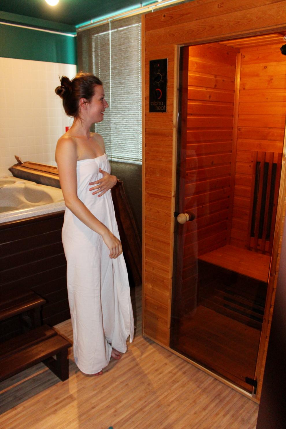 Health Spa - sauna