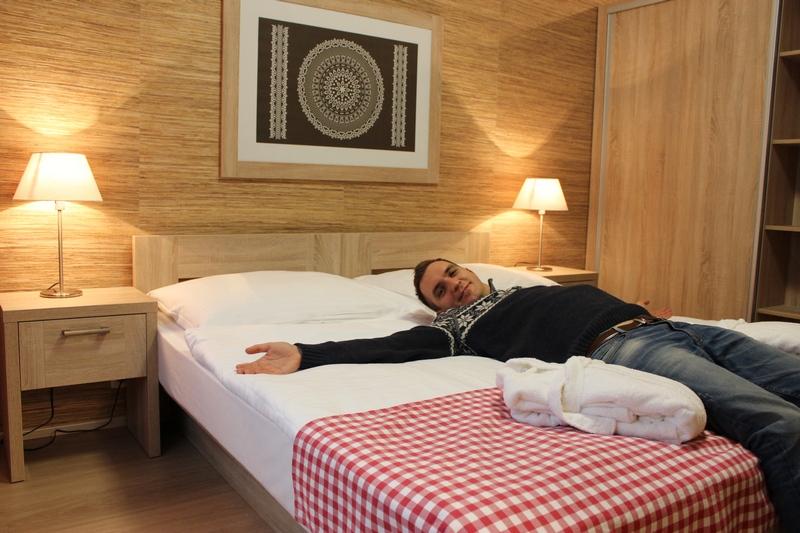 Hotel Salamandra - dvojlôžková izba štandard